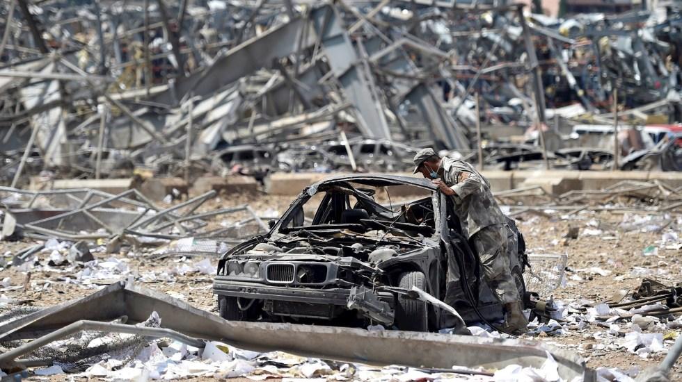 Los nombres de los muertos - Foto de EFE/EPA/WAEL HAMZEH.