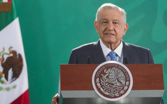 Suspenderán en Coahuila e Hidalgo transmisión de conferencias de AMLO por elecciones - López Obrador durante conferencia matutina. Foto de lopezobrador.org.mx