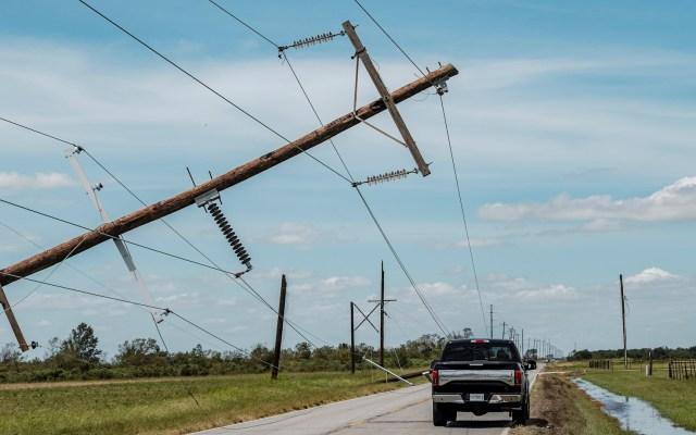 Suman al menos cuatro muertos en Luisiana por el huracán Laura - Louisiana daños Laura Huracán