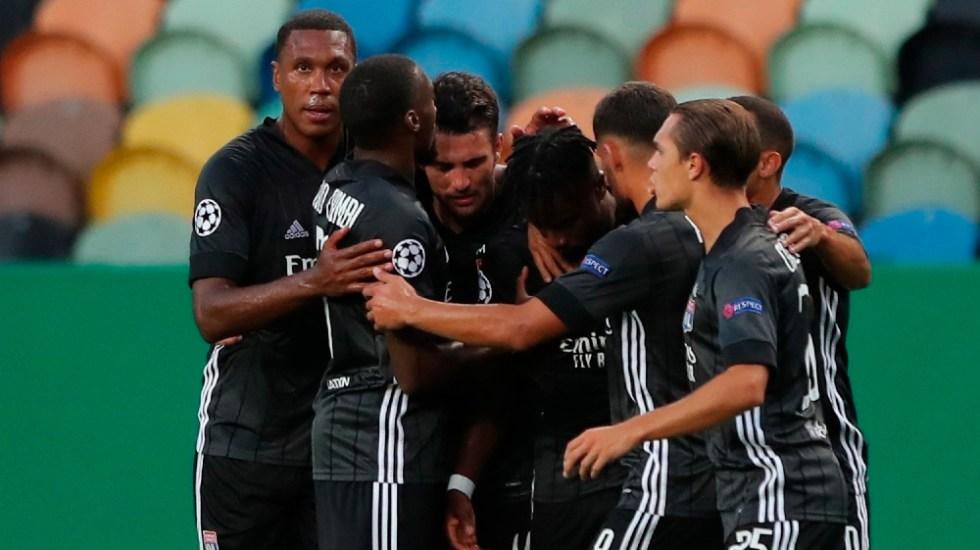 Lyon elimina de la Champions al Manchester City de Guardiola - Foto de EFE