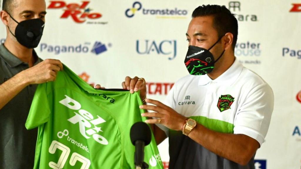 Marco Fabián es el nuevo jugador de FC Juárez - Marco Fabián Bravos Juárez