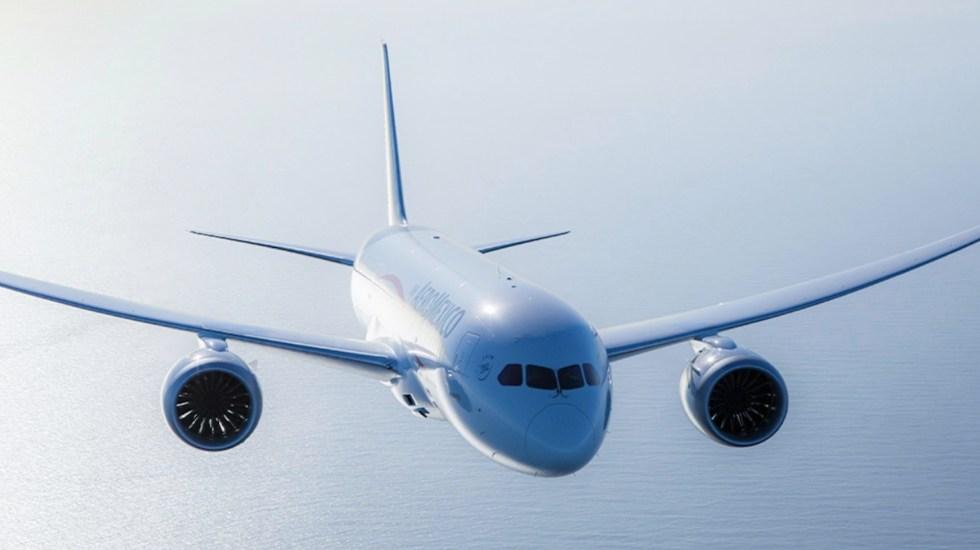 Celebra Aeroméxico cinco años de la llegada del 'Misionero de Paz' - Foto de Aeroméxico