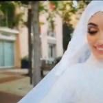 #Video Explosión en Beirut sorprende a novia durante sesión de fotos