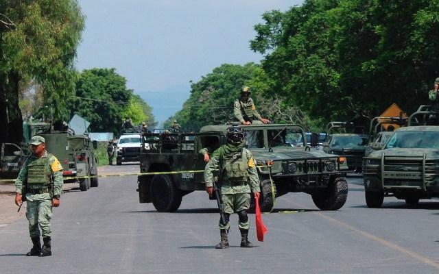 Todos los delitos han ido a la baja, asegura Alejandro Gertz Manero - Operativo de fuerzas federales en Guanajuato para prevenir delitos tras captura de 'El Marro'. Foto de EFE