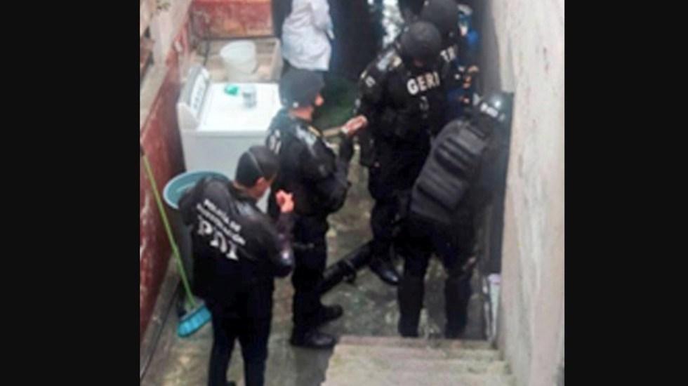 Detienen a cinco y decomisan más de 300 dosis de droga en cateos en Miguel Hidalgo - Foto de Policía de Investigación