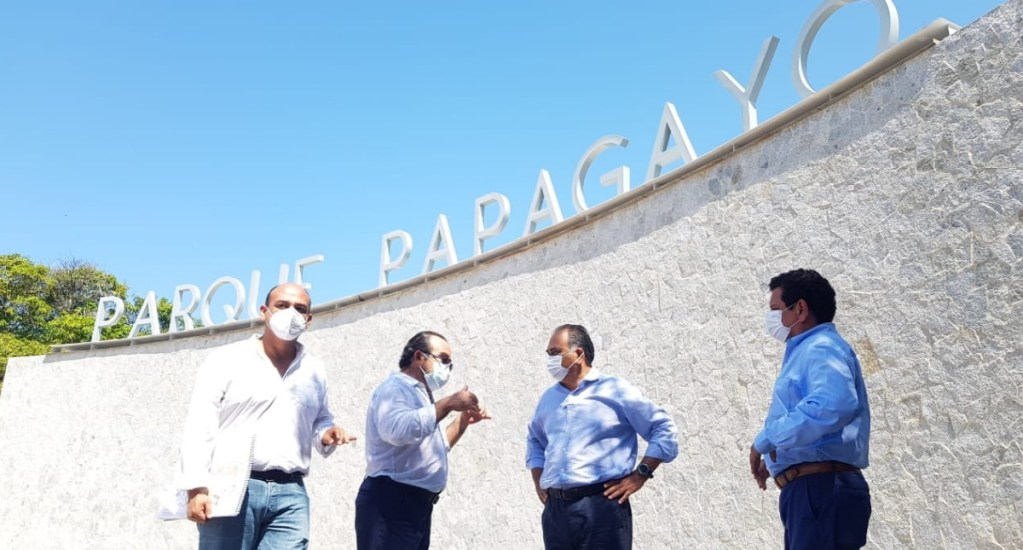 Muy pronto estará lista la renovación del Parque Papagayo en Acapulco, destaca Héctor Astudillo - Parque Papagayo Guerrero Héctor Astudillo