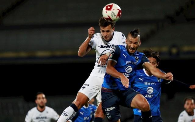 Monterrey rescata empate ante Pumas desde los 11 pasos - Partido Pumas UNAM Monterrey Dinenno Nicolás Sánchez