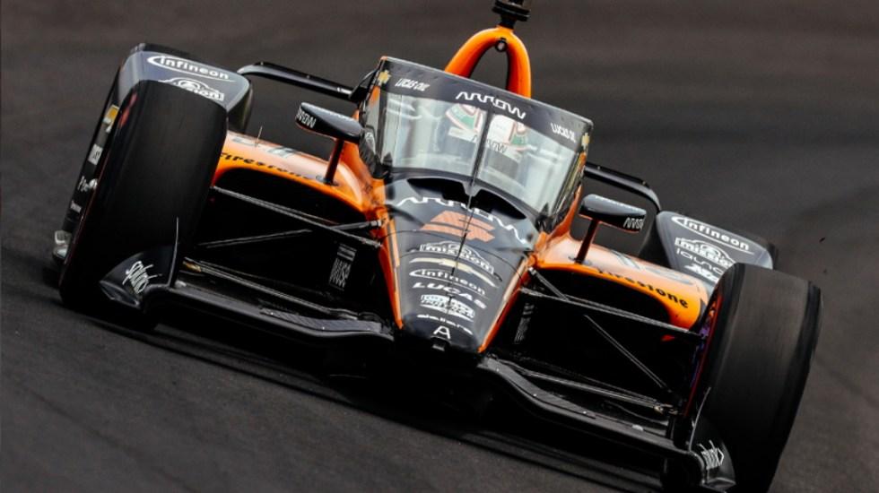 El mexicano Pato O'Ward es el más rápido en última sesión de entrenamientos de la Indy 500 - Pato O'Ward Indianapolis Indy 500