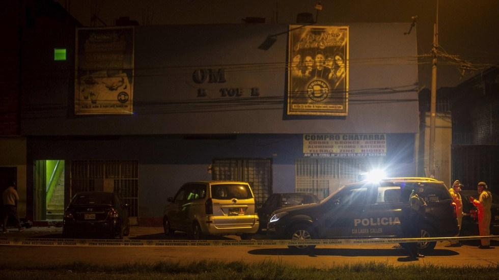 De los 13 muertos durante fiesta clandestina en Perú, 11 tenían COVID-19 - Perú estampida fiesta clandestina muertos 2