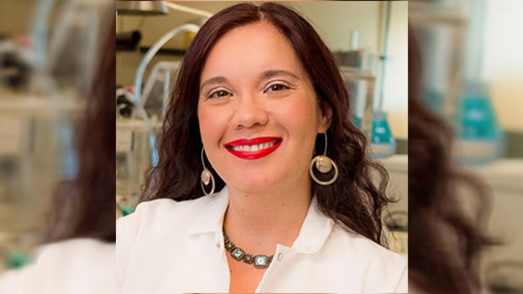 Mexicana recibe Premio Presidencial a la Excelencia de la Casa Blanca - Profesora Olivia Graeve. Foto de UC San Diego