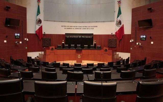 Definirán este lunes si López Obrador o Cámaras presentan solicitud para consulta sobre juicio a expresidentes - Senado de la República. Foto de @senadomexico