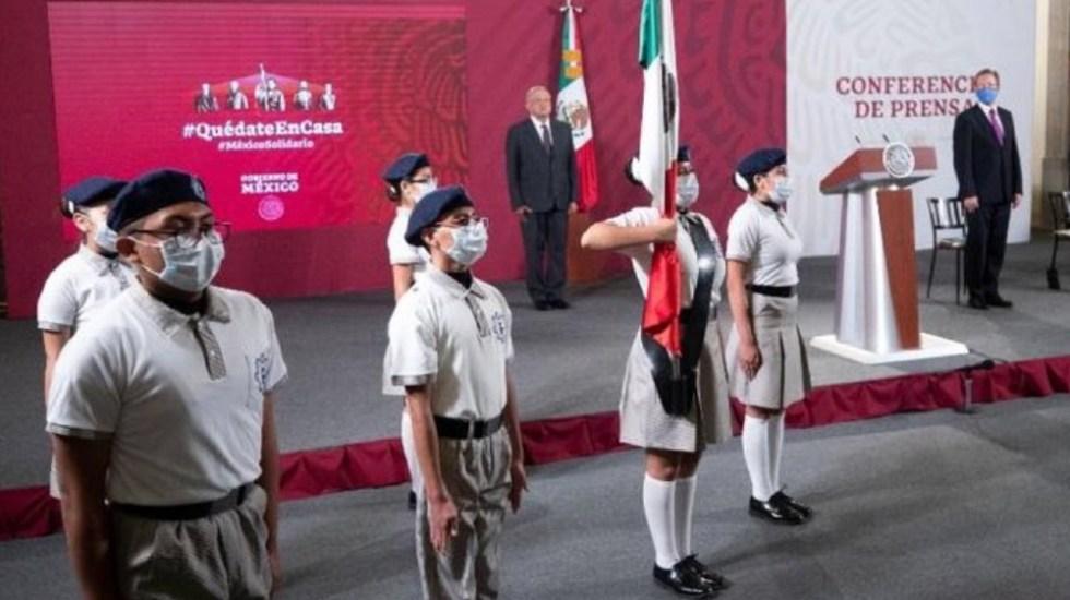 Conferencia matutina López Obrador 24 de agosto - Foto de SEP