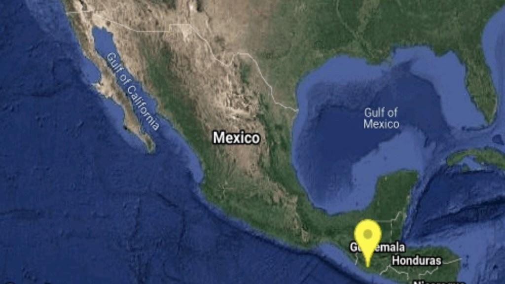 Sismo de magnitud preliminar 5.4 sacude Chiapas - Foto de SSM
