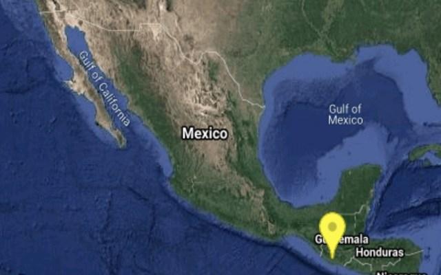 Sismo de magnitud preliminar 5.7 sacude Chiapas - Foto de SSM