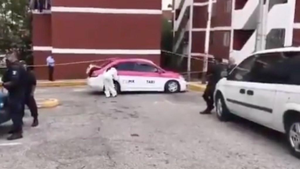 Encuentran dos cuerpos dentro de taxi en Coacalco - Captura de pantalla