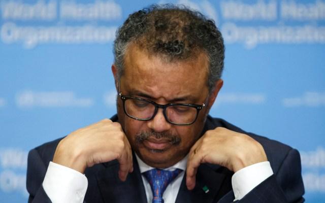 Director de OMS confía en que Estados Unidos reconsidere su salida del organismo - Tedros Adhanom Ghebreyesus, director de la OMS. Foto de EFE