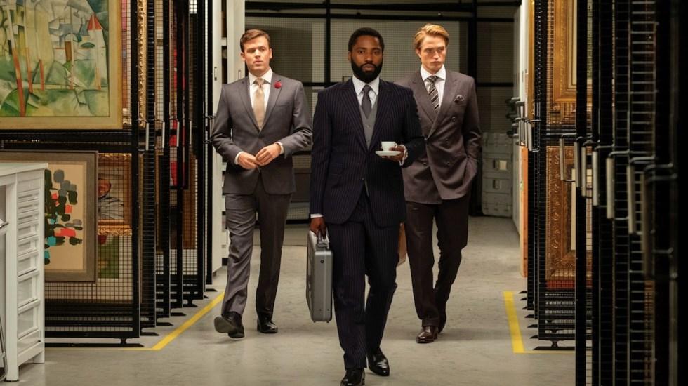 'Tenet', de Christopher Nolan, marca el regreso de las superproducciones al cine tras llegada del COVID-19 - Foto de EFE
