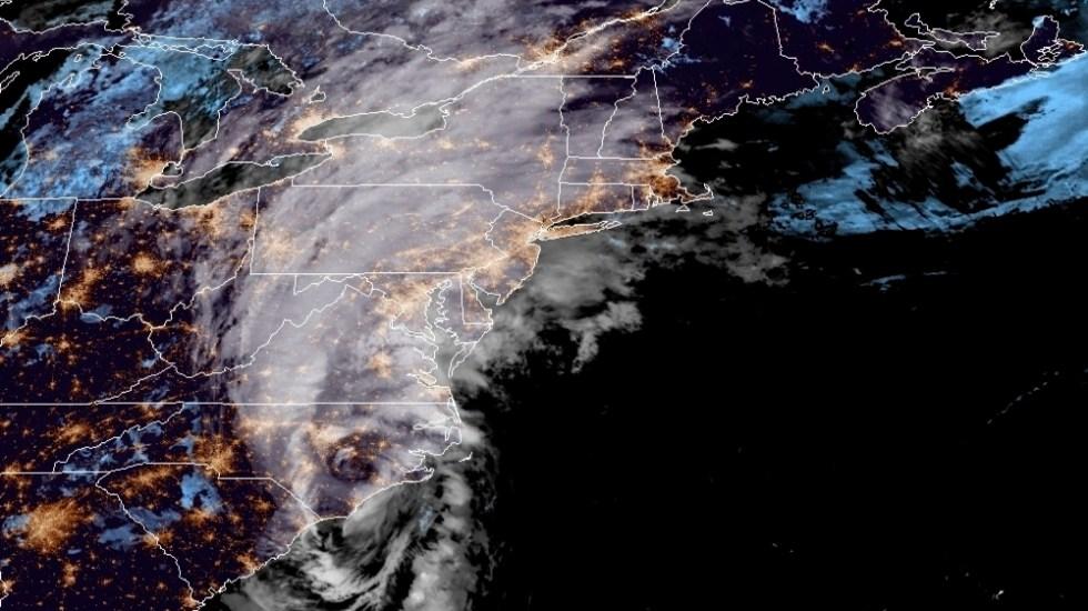 Isaías, de nuevo tormenta, se acerca a Virginia con viento y lluvia - Foto de EFE