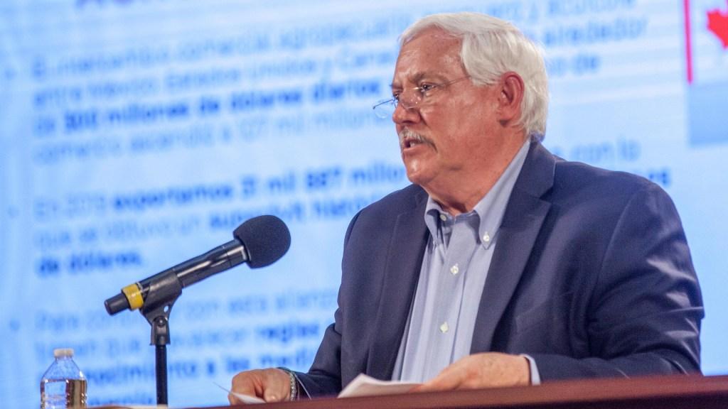 Sader no debe ofrecer disculpas a Semarnat por anteproyecto de glifosato, responde Villalobos - Víctor Villalobos Sader Secretaría de Agricultura