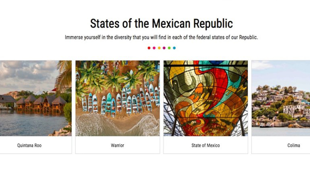 Con 'página fake' de Visit Mexico se están burlando de México, advierte Torruco Marqués - Traducciones erróneas en página de Visit Mexico. Captura de pantalla