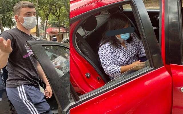 #Video Federico Viñas choca auto en Coapa; lo acusan de no querer responsabilizarse - Accidente vial de Federico Viñas. Foto de @RoaBntt
