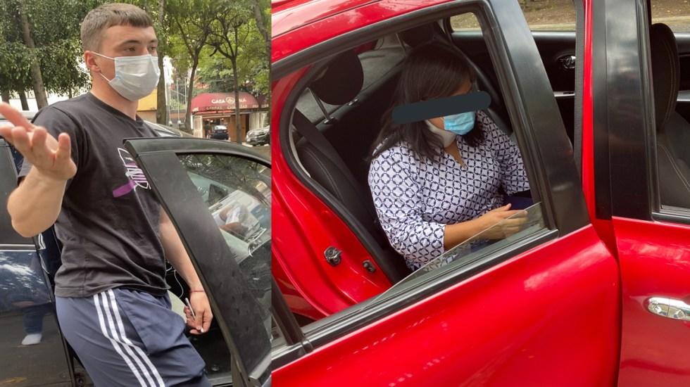 #Video Federico Viñas choca en Coapa; acusan a jugador de no querer responsabilizarse - Accidente vial de Federico Viñas. Foto de @RoaBntt