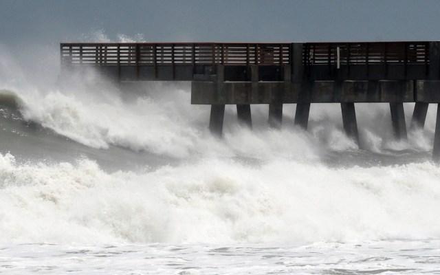 Tormenta tropical Beta impactará en costa de Texas; alertan por fuerte oleaje - Foto de EFE