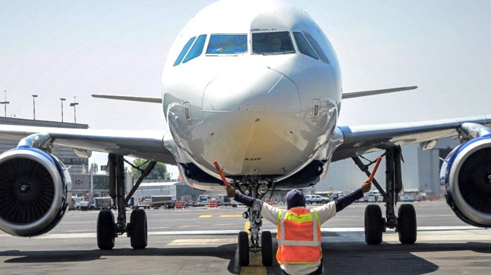 Rediseño del espacio aéreo en Valle de México aumenta riesgo de accidentes, advierte Sinacta - Foto de @AICM_mx