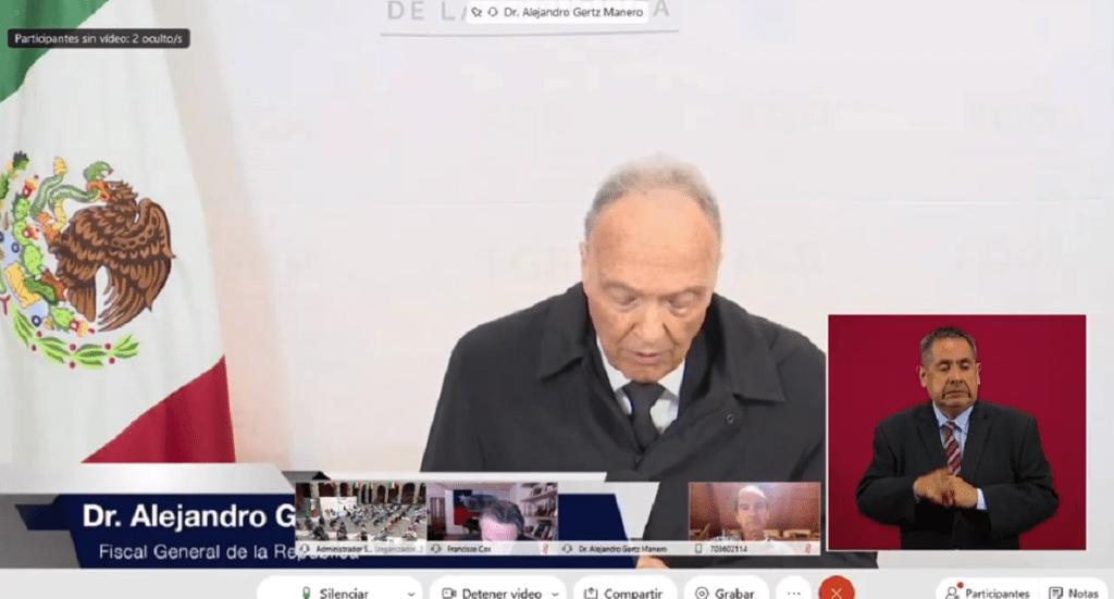 """Tomás Zerón inventó la """"Mentira Histórica"""" y robó mil millones de pesos: Gertz Manero - Captura de pantalla"""