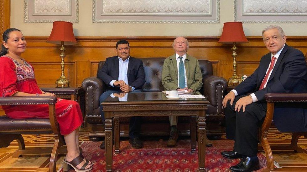 Cambio en el Gabinete Federal. Toledo sale de Semarnat; en su lugar, María Luisa Albores. Javier May, a Bienestar - Foto de @lopezobrador_.