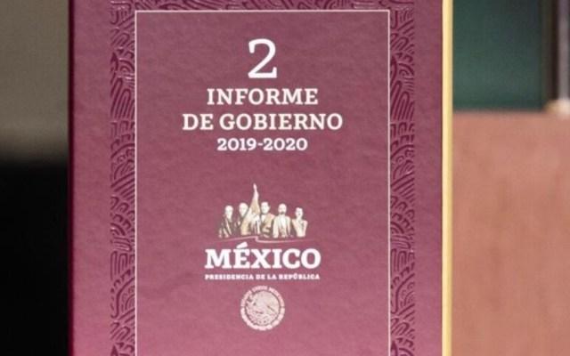 Este es el Segundo Informe de Gobierno del presidente López Obrador - Foto de Presidencia de la República