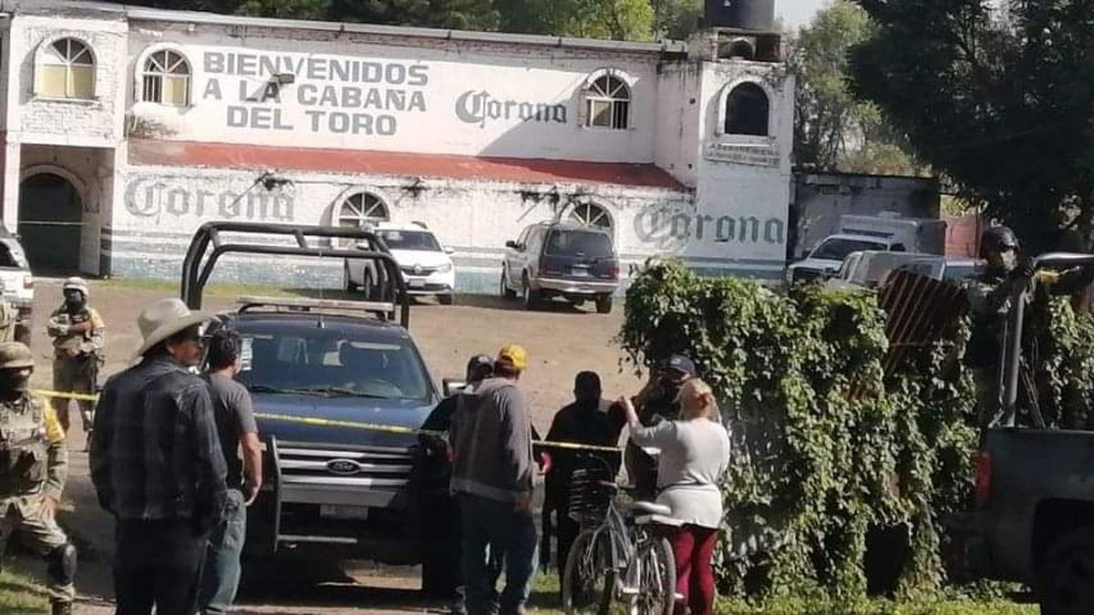 Masacre en Jaral del Progreso; asesinan a 11 personas en un bar