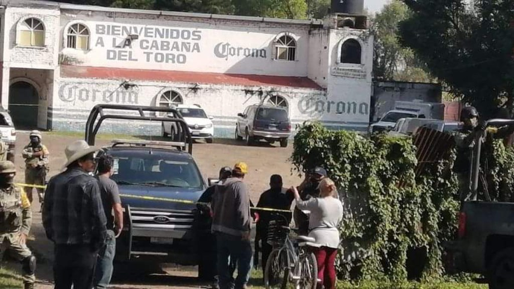 Nueva masacre en Guanajuato: asesinan a 11 personas en bar - Bar en Guanajuato donde asesinaron a once personas. Foto de @ValorSma