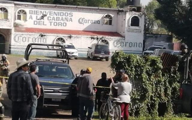 Fiscalía de Guanajuato investiga masacre en bar de Jaral del Progreso; confirma 11 muertos y una mujer lesionada - Bar en Guanajuato donde asesinaron a once personas. Foto de @ValorSma