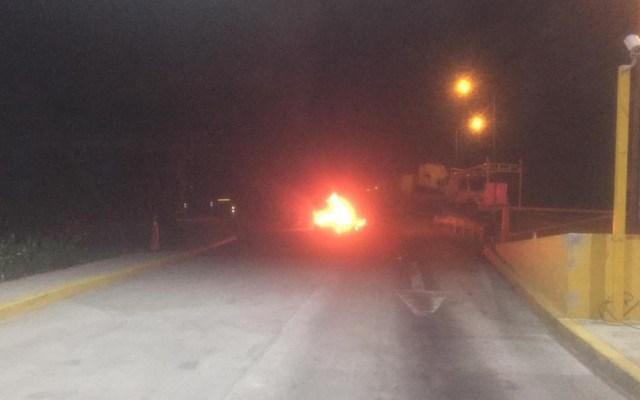 Continúan bloqueos en Matamoros atribuidos a líder del Cártel del Golfo - Bloqueos Matamoros Tamaulipas