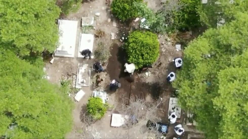 FGJ busca en panteón de Azcapotzalco indicios sobre jóvenes desaparecidos tras asistir a fiesta - Foto de Telediario