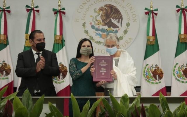 #EnVivo Entrega Sánchez Cordero el Segundo Informe de Gobierno - Cámara de Diputados México Segundo Informe 9