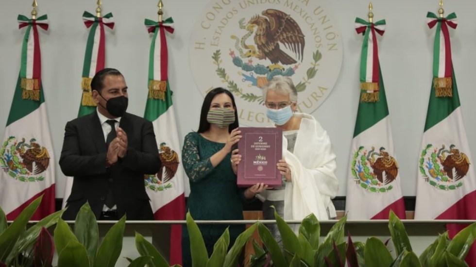Entrega Sánchez Cordero al Congreso el Segundo Informe de Gobierno - Cámara de Diputados México Segundo Informe 9