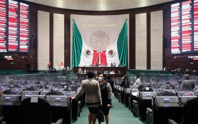Grupos parlamentarios en Cámara de Diputados gastaron 239 mdp entre enero y abril - Recinto de San Lázaro. Foto Cámara de Diputados