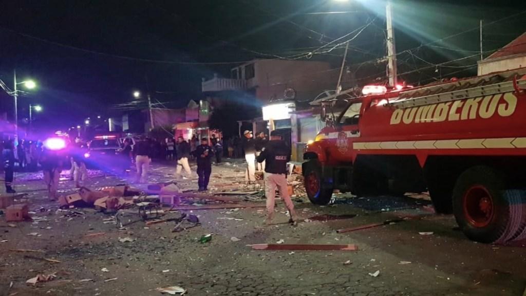 #Video Así se vio la explosión de bar clandestino en Coacalco - Foto  de @CoacalcoGobMx