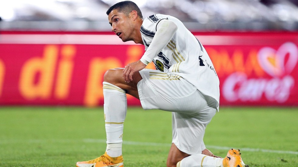 Cristiano Ronaldo da positivo a COVID-19; se mantiene aislado - Cristiano Ronaldo partido futbol