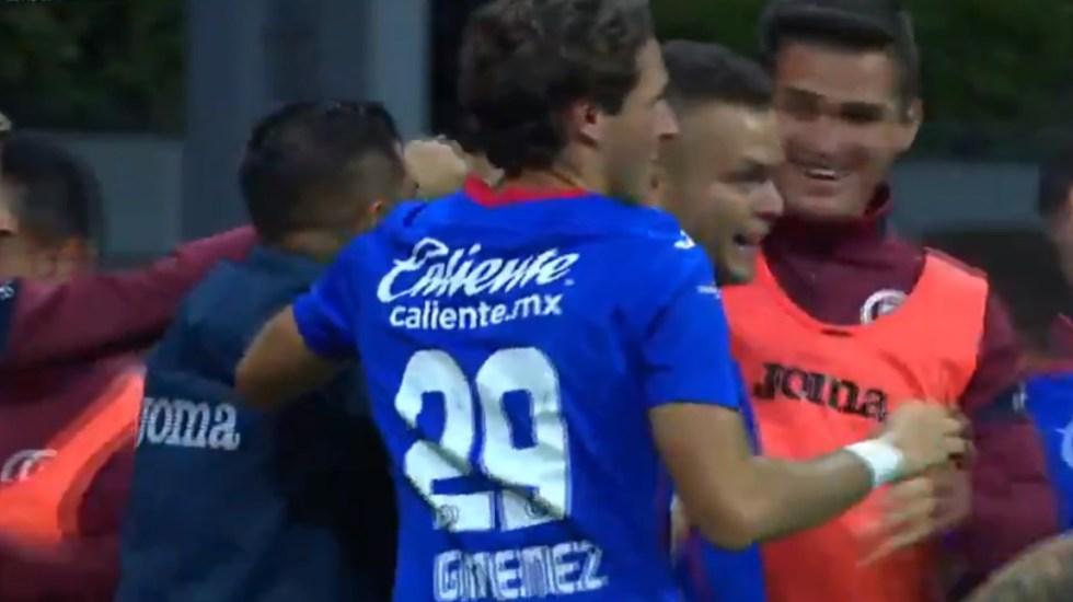 Cruz Azul derrota a Pachuca con gol de último minuto - Cruz Azul gol partido Pachuca 09092020