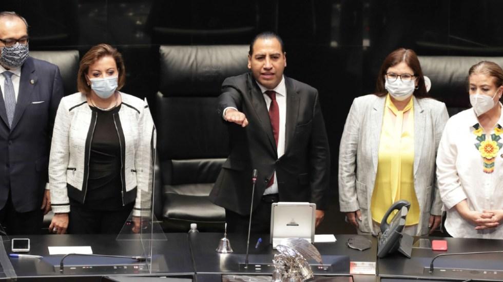 Habrá inclusión en Morena y en el Senado: Eduardo Ramírez sobre quienes no simpatizan con presidencia de Mesa Directiva - Foto de Senado de la República
