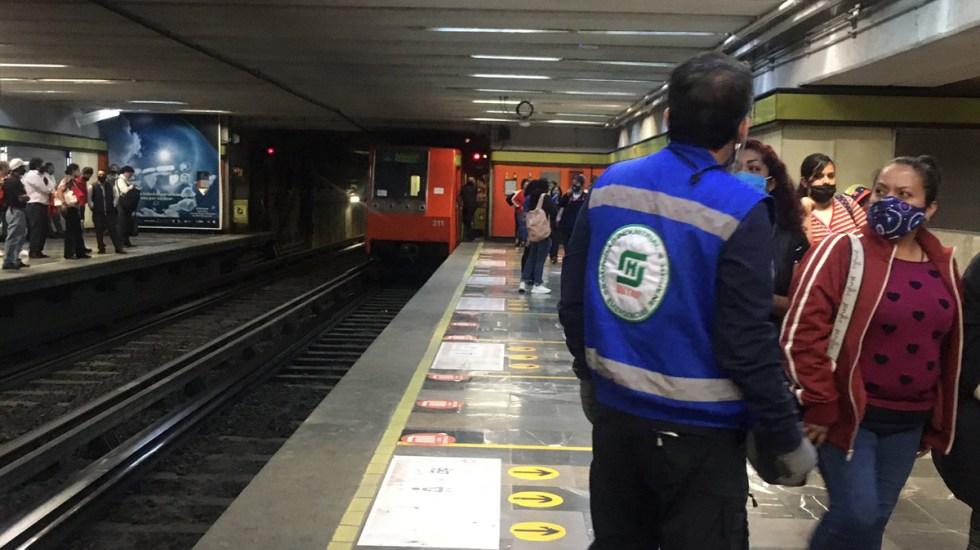 Reanuda Metro servicio en toda la Línea 3 tras afectaciones por lluvias - Estación de la Línea 3 del Metro. Foto de @PilyJuarez