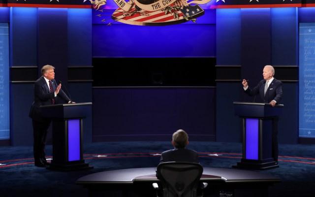 Trump y Biden realizarán eventos políticos separados tras cancelarse debate electoral - Estados Unidos debate presidencial Donald Trump Joe Biden 3
