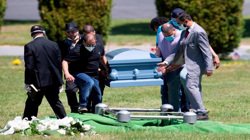 COVID-19 fue la tercera mayor causa de muertes en EE.UU. en 2020 - Tan solo en la ciudad de Nueva York han muerto 23 mil 795 personas por COVID-19. Foto EFE