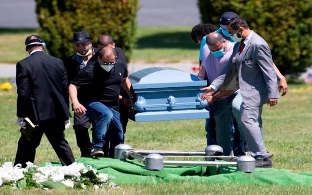 Estados Unidos alcanzó este domingo los 204 mil 743 muertos por COVID-19 - Tan solo en la ciudad de Nueva York han muerto 23 mil 795 personas por COVID-19. Foto EFE
