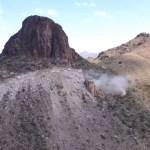 #Video Dinamitan cañón de Guadalupe en EE.UU. para construir muro fronterizo