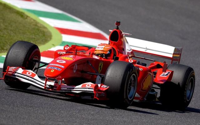 Compite Mick Schumacher en GP de la Toscana con Ferrari que pilotó su padre - F2004 pilotado por Mick Schumacher. Foto de @ScuderiaFerrari