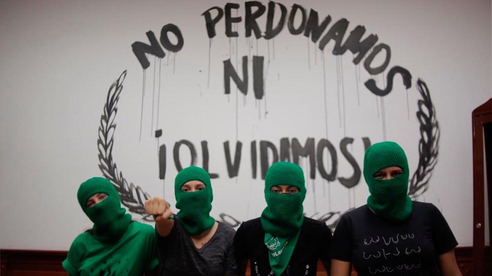 Segob acusa que grupos feministas cobran 3 mil pesos por supuesta ayuda a víctimas - Segob acusa que grupos feministas cobran dinero a víctimas por presunta ayuda. Foto @MxMareaVerde
